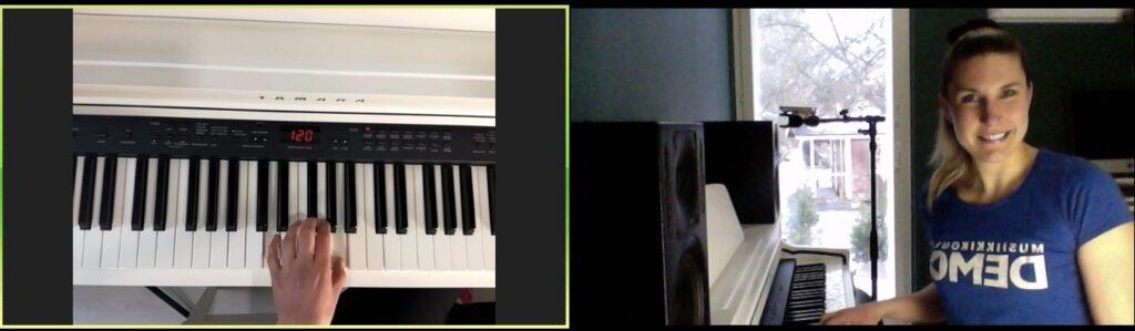 musiikin etäopetus